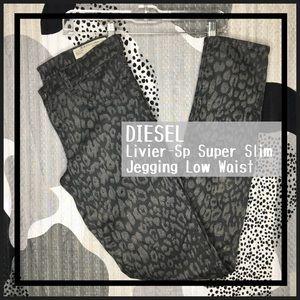 DIESEL • Livier-Sp Super Slim Jegging Low Waist
